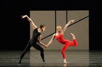 Which repertoire will I learn at endanza 2012? William Forsythe