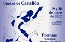 Endanza 2012 en la XVI Convocatoria Nacional de Danza Ciudad de Castellón